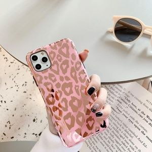NEW iPhone 11/Pro/Max/XR/XS/X/8/Plus Leopard Case